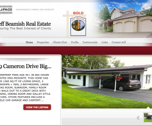 Real Estate Site Build